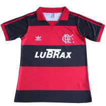 1988 Flamengo  Home Retro Soccer Jersey