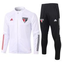 2020/21 Sao Paulo White Jacket Tracksuit