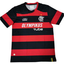 2009 Flamengo Home Retro Soccer Jersey