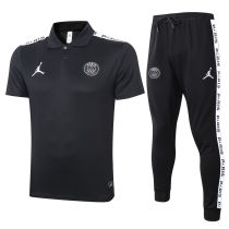 2020/21 PSG JD Black Polo Tracksuit