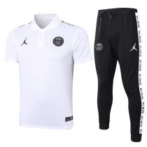2020/21 PSG JD White Polo Tracksuit