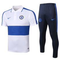 2020/21 Chelsea White Polo Tracksuit
