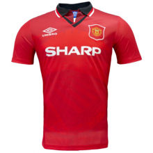 1994/96 Man United Home Retro Soccer Jersey