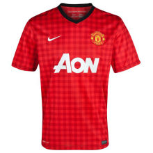 2012/13 Man United Home Retro Soccer Jersey