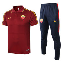 2020/21 AS RM Red Polo Tracksuit