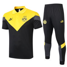 2020/21 Dortmund Yellow Polo Tracksuit