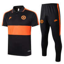 2020/21 Chelsea Black Polo Tracksuit