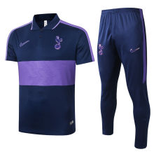 2020/21 Tottenham Purple Polo Tracksuit