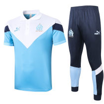 2020/21 Marseille White Polo Tracksuit