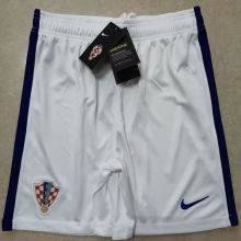2020 Euro Croatia Home White Shorts Pants