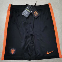 2020 Euro Netherlands Away Black Shorts Pants