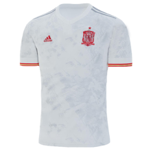 2020 Euro Spain 1:1 Quality Away Fans Soccer Jersey