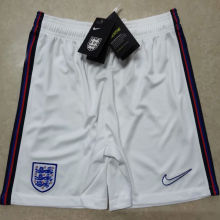 2020 Euro England Home White Shorts Pants