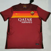 2020 Roma Home Red Fans Soccer Jersey