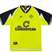 1995-1996 BVB Retro Home Soccer Jersey