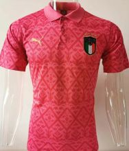 Copy 2020 Euro Italy Pink POLO Short Jersey