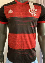 2020 Flamengo Home Player Version Soccer Jersey