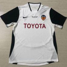 2003/04 Valencia Home Retro Soccer Jersey