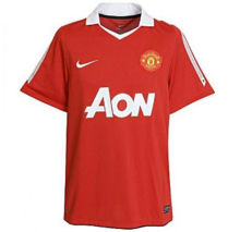 2010/11 Man United Home Retro Soccer Jersey