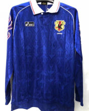 1998 Japan Home Long Sleeves Retro Soccer Jersey