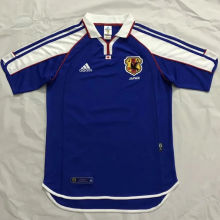 2000 Japan Home Retro Soccer Jersey