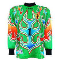 1998 Japan Green GK Retro Soccer Jersey