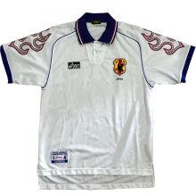 1998 Japan Away White Retro Soccer Jersey