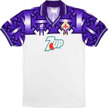 1992/93 Fiorentina Home Retro Soccer Jersey