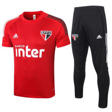 2020/21 Sao Paulo Red Training Tracksuit