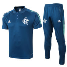 2020/21 Flamengo Royal Blue Polo Tracksuit