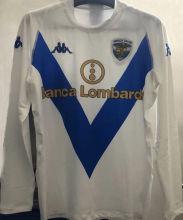 2003/04 Brescia Away Retro Long Sleeves Soccer Jersey