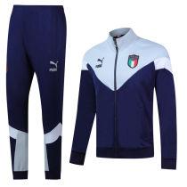 2020/21 Euro Italy Royal Blue Jacket Tracksuit
