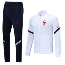 2020/21 France White Jacket Tracksuit