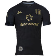 2020 Racing Away Black Fans Soccer Jersey