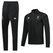 2019/20 Liverpool Balck Commemorative Edition Jacket Tracksuit