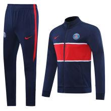 2020/21 PSG Paris Royal Blue Jacket Tracksuit