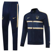 2020 Pumas UNAM Blue Jacket Tracksuit