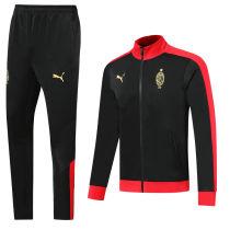AC Milan Black Century Classic Jacket Tracksuit