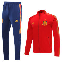2020/21 Spain Red Jacket Tracksuit