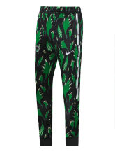 2020/21 Nigeria Green Black Sports Trousers