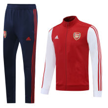 2020/21 Arsenal Red White Jacket Suit