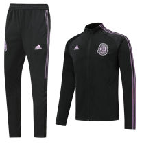 2020/21 Mexico Purple Black Jacket Tracksuit