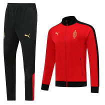 AC Milan Red Century Classic Jacket Tracksuit