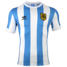 1978 Argentina Home Retro Soccer Jersey