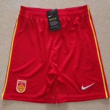 2020/21 China Red Shorts Pants
