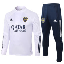 2020/21 Boca White Half Pull Sweater Tracksuit