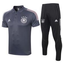 2020/21 Germany Dark Grey Polo Tracksuit