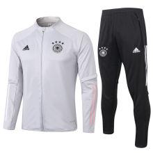 2020/21 Germany Light Grey Jacket Tracksuit