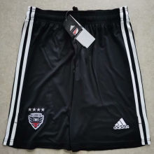 2020 D.C. United Black Shorts Pants soccer