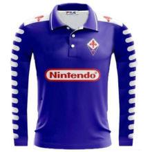 998-1999 Fiorentina Home Retro Soccer Jersey